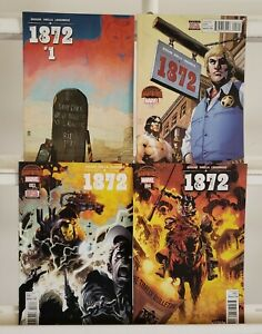 1872-1-2-3-4-Complete-Marvel-Comics-2015-Set-Series-Run-Lot-1-4-VF-NM