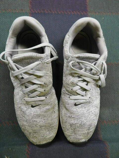 Nike Mens Air Max Modern Flyknit 876066 001 10.5 US, Wolf Grey, Pre Owned