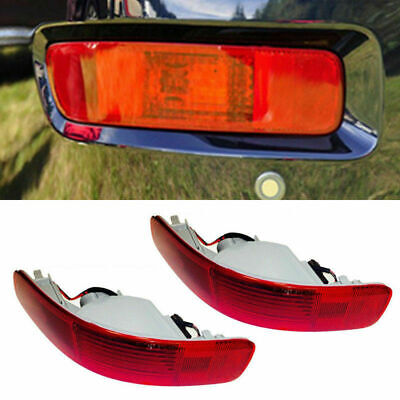For Mitsubishi Outlander MK2 2006-2012 Rear Bumper Reflector Tail Fog Light Lamp