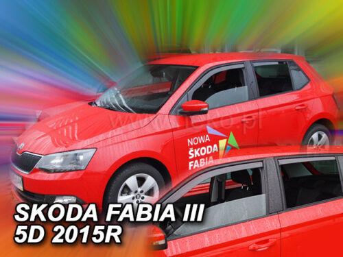 HEKO saute vent Skoda Fabia III 5tür à partir de 2014 HTB//COMBI 4tlg 28343