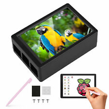 6 Led Touch Lcd Screen Set With Case Pen For Raspberry Pi 4 B Support Hdmi Audio