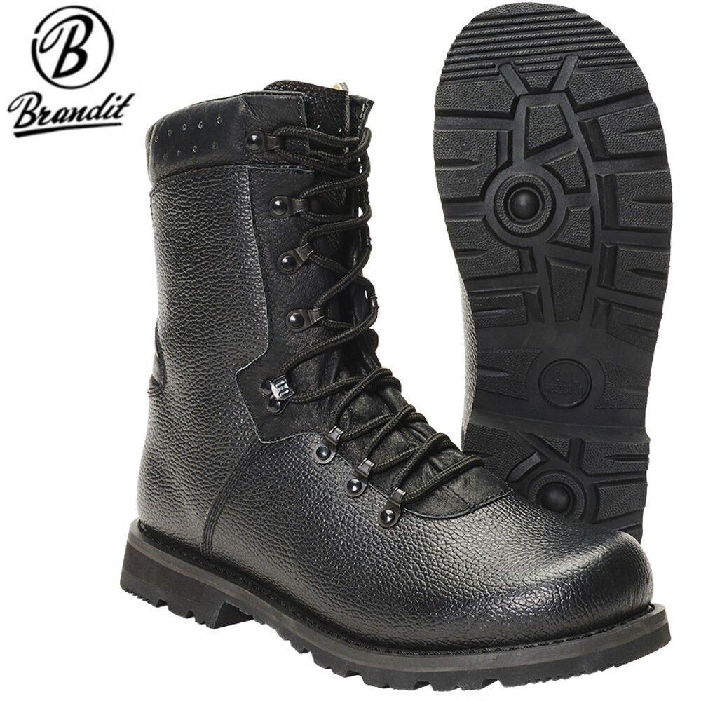 Brandit Herren BW Kampfstiefel Modell 2000 Bundeswehr Armee Stiefel Boots Schuhe