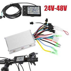 24-48V-Electric-Bicycle-E-bike-Scooter-Brushless-DC-Motor-Speed-Controller-New