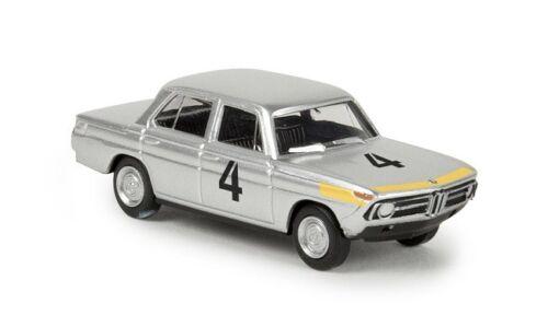 Von Jacky Ickx Brekina 24430-1//87 BMW 1800 Tii Silber #4 Neu
