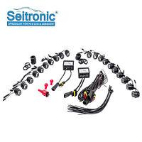 Seitronic® LED Tagfahrlicht Set, E4 & R87 Modul, 20 High Power SMD LEDs, Weiß