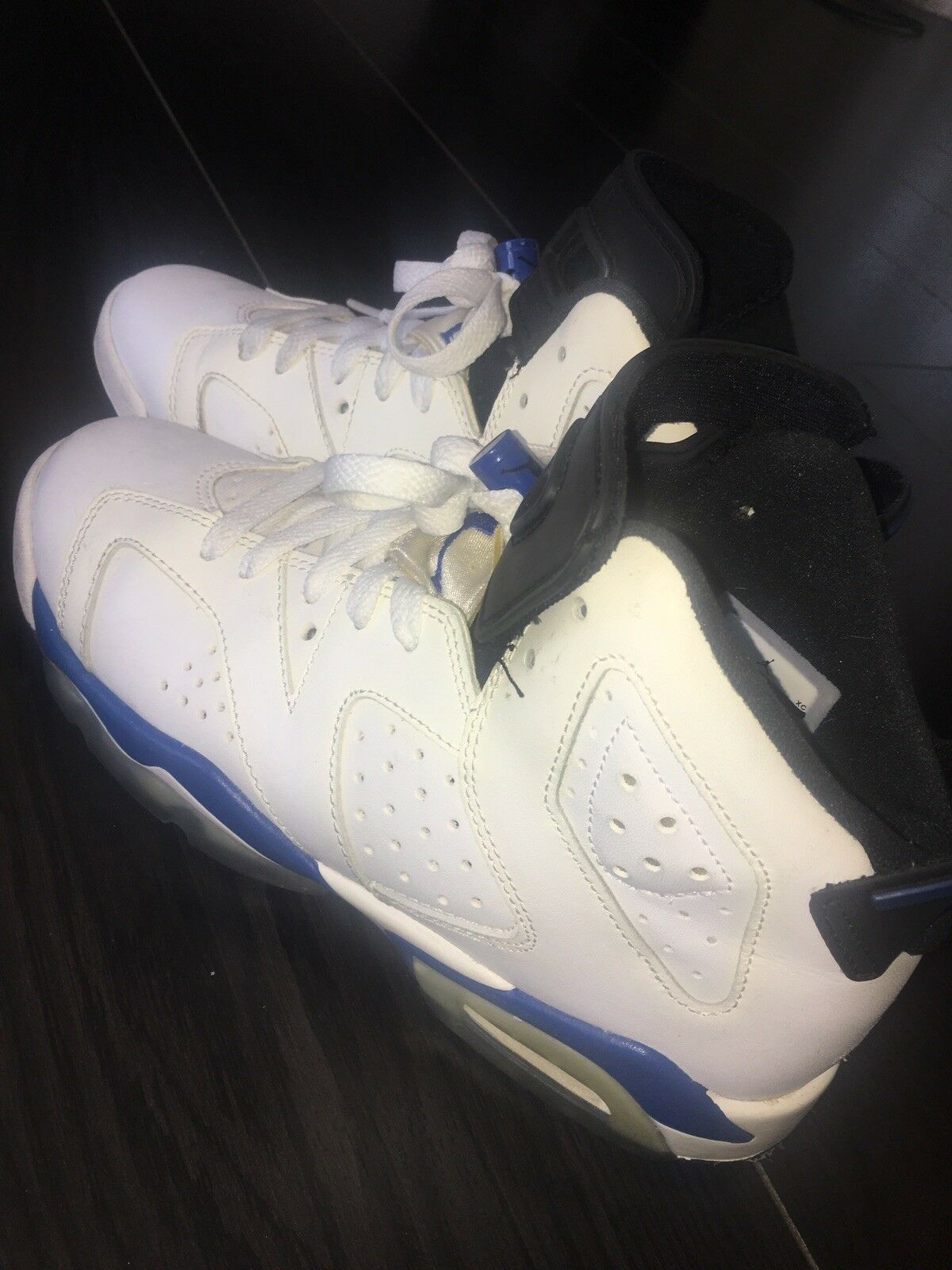 Nike Air Jordan 6 Retro Sport bluee UK size 5