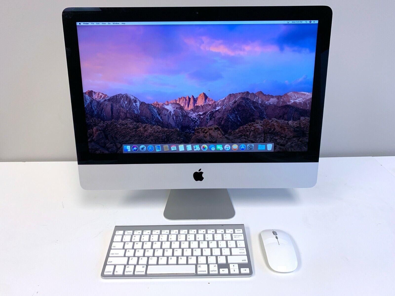 Apple iMac 21.5 inch SLIM / QUAD CORE i7 3.9GHZ / 1TB / 16GB RAM / OSX-2019. Buy it now for 799.00