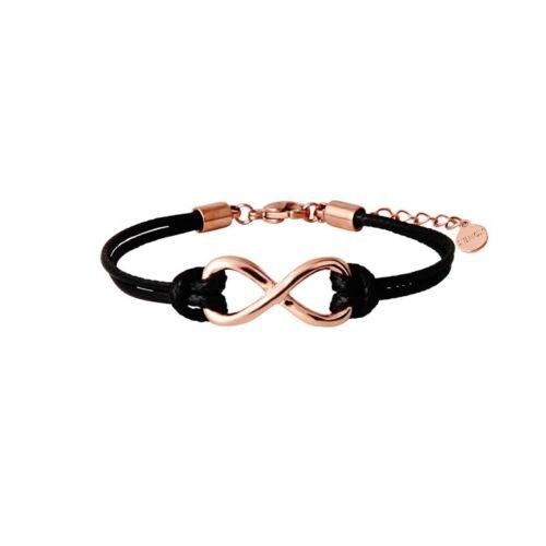 Xenox Jewels Symbolic Power Steel Infinity-Armband rosé X2543R