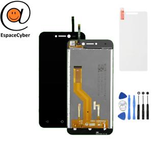 LCD-Ecran-tactile-assembles-Wiko-Y50-Noir-Outils-Protection