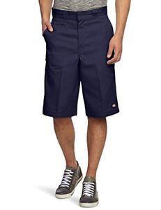 Dickies-Mens-13-Inch-Multi-Use-Pocket-Work-Shorts-Blue-Navy-Blue-W30