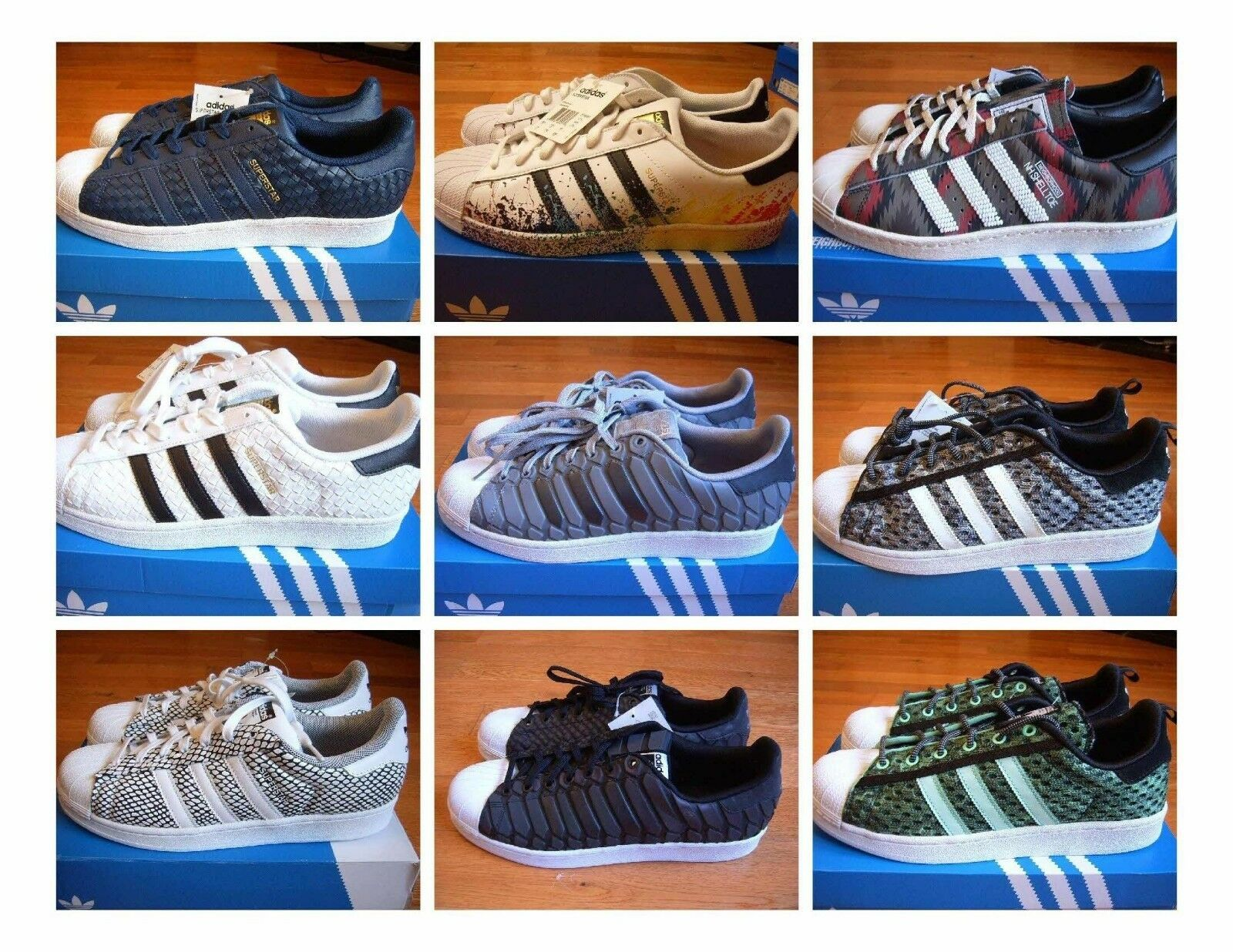 New with Box shoes/sneakers, Adidas Superstar shoes/sneakers, Box Primeknit, Snakeskin, Neighborhood 12b789