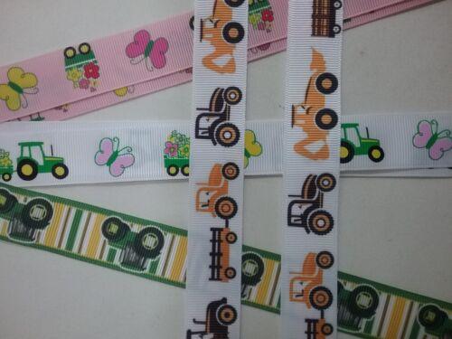 Mitten Clips X 1 pr Tracteur motif ruban Gant épargnants garçon fille girl kids Farm