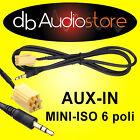 Cavo Interfaccia AUX In Out adapter Fiat Stilo x lettore mp3 ipod CD Car