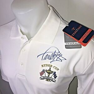 SIGNED-Paul-Azinger-Ryder-Cup-Valhalla-Mens-Large-L-White-Autograph-Team-Shirt