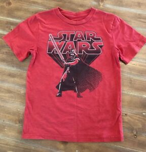 d27735b86 Image is loading Boys-Star-Wars-Graphic-Tee-Red-Size-Large-