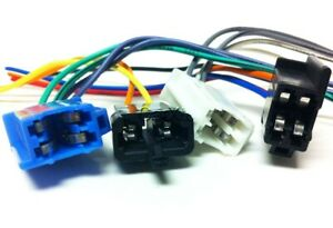 details about delco gm gm2700 factory radio wire harness am fm stereo cassette plugs GM Wiring Diagrams For Dummies