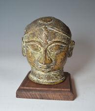 Antique Indian bronze alloy Gauri head
