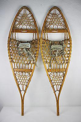 Vintage The Maine Snow Shoe by L.L. Bean, 14 x 48 Wood