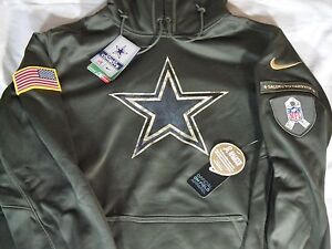 New-Nike-2015-NFL-Dallas-Cowboys-Salute-to-Service-STS-KO-Hoodie-M-L ...