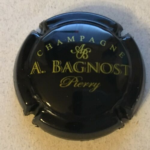 19b. noir et or Capsule de champagne BAGNOST A.