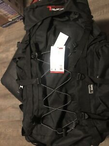Backpack Camping 3200 CI BLK Scouts Hiking Hunting Travel Day Pack Rucksack