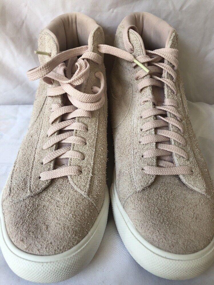 Nike Blazer Mid Silt Red Summit White 371761-607 Men's size 10.5