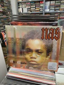 Nas LP Illmatic Clear Vinyl Versiegelt 2021