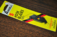 Ardell 5 Hook Blades, Roof Utility Knife , Cutter , Made in USA #02-1003