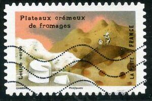 CréAtif France Autoadhesif Oblitere N° 1461 Le Gout // Le Fromage