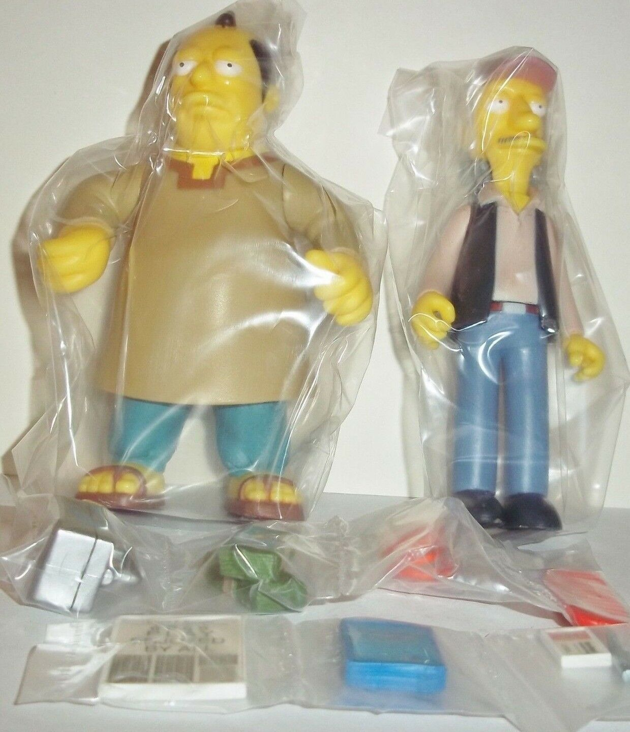 WOS The The The Simpsons Cartoon Cooder & Sinclair Interactive mailaway figures rare new 7ce401