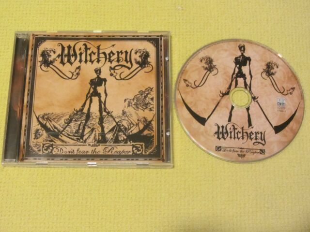 Witchery Don't Fear The Reaper 2006 CD Album Thrash Rock Metal near MINT