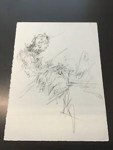Kinetic-Pianist-ORIGINAL-graphite-drawing-by-deceased-Atlanta-artist-Lori-Gene