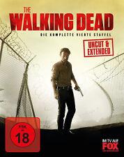5 Blu-rays * THE WALKING DEAD - SEASON / STAFFEL 4 # NEU OVP  WVG