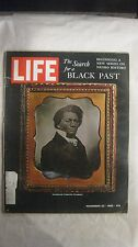 Life Magazine November 22nd 1968 The Search For A Black Past Published By Time