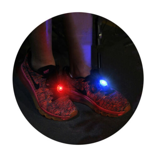 3 Pack LED Safety Light Clip On Strobe Running Cycling Bike Tail Warning Gear
