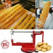 Stainless Steel Vegetable Spiral Slicer Cutter Potato Curly French Fry Twister G