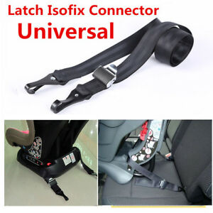 Child-Safety-Seats-Car-Seat-Strap-Kit-Install-Fixed-Belt-Connector-Isofix-Latch