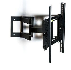 Porta Tv Lcd Da Muro.Staffa Porta Tv Da Muro Universale Supporto Parete Per Lcd Led