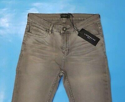 10) Originale Lusso Liebeskind Jeans Sexy Pantaloni Tg. 27 28 32 Nuovo Uvp 129 € Grigio Scuro-mostra Il Titolo Originale Fornitura Sufficiente
