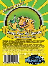 NEW LABEL Pangea COMPLETE Fruit Mix Banana Papaya Crested Leachie Gecko Diet 2oz