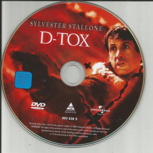 1 von 1 - D-Tox - Im Auge der Angst (Sylvester Stallone) DVD-ohne Cover #m56