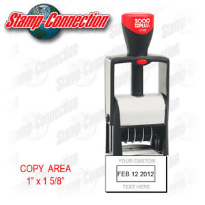 Image Is Loading 2000 Plus 2160 Self Inking Date Stamp With