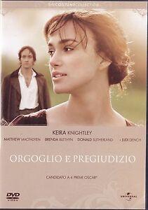 DVD-Orgoglio-e-Pregiudizio-2005-the-Costume-Collection-ED-RARA-ITALIANO