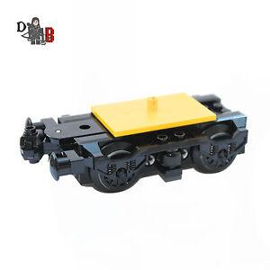 Personalizzato LEGO City Treno Motore carrello con ruote & buffer per carrozze 60197