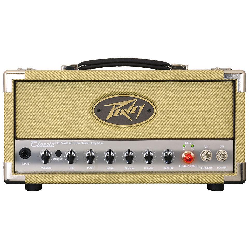 Peavey Classic 20 Mini Head Guitar Amplifier Head, Free Shipping