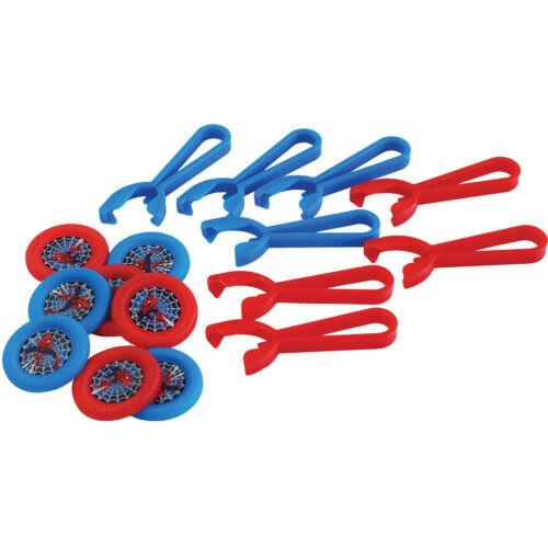 Spiderman Mottoparty Auswahl Kindergeburtstag Dekoration Mitgebsel Party neu