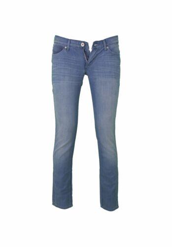 Blue Jeans donna Wrangler HAILEY slim fit mod W22TF828Z