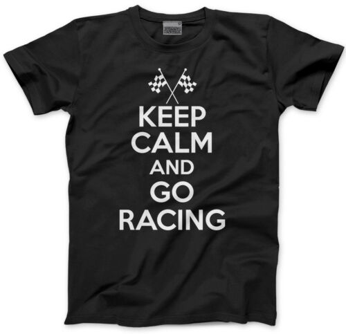 Car rally Motor Cycle Kids T-Shirt Keep Calm and Go Racing