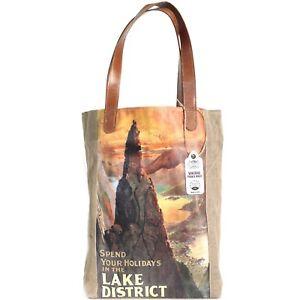 Lake con borsa di viaggio regalo da in manico foderato di compleanno pelle per District vintage Regalo cqCTXvX