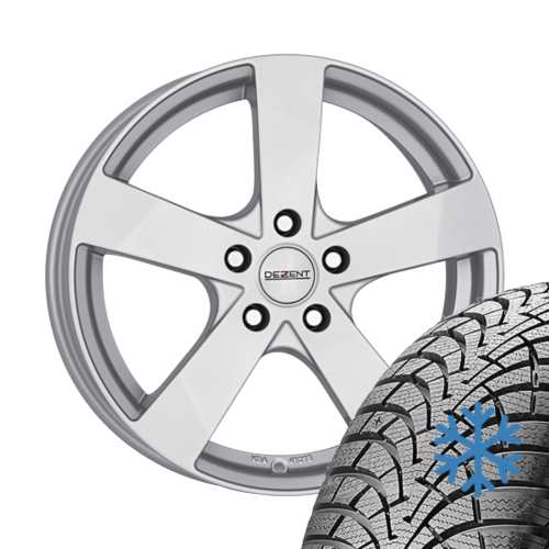 Alloy wheels VW Polo Cross 6R 195/65 R15 91H Falken winter with rim 6x15.0 ET38
